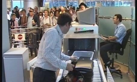 Security op Ben Gurion Airport
