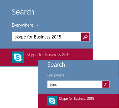 Skype-Lync-Search-Windows