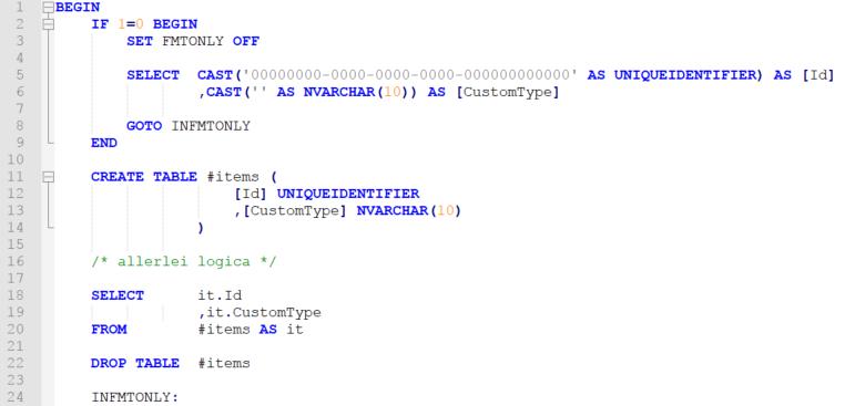 Voorbeeld toevoeging fmtonly redirect