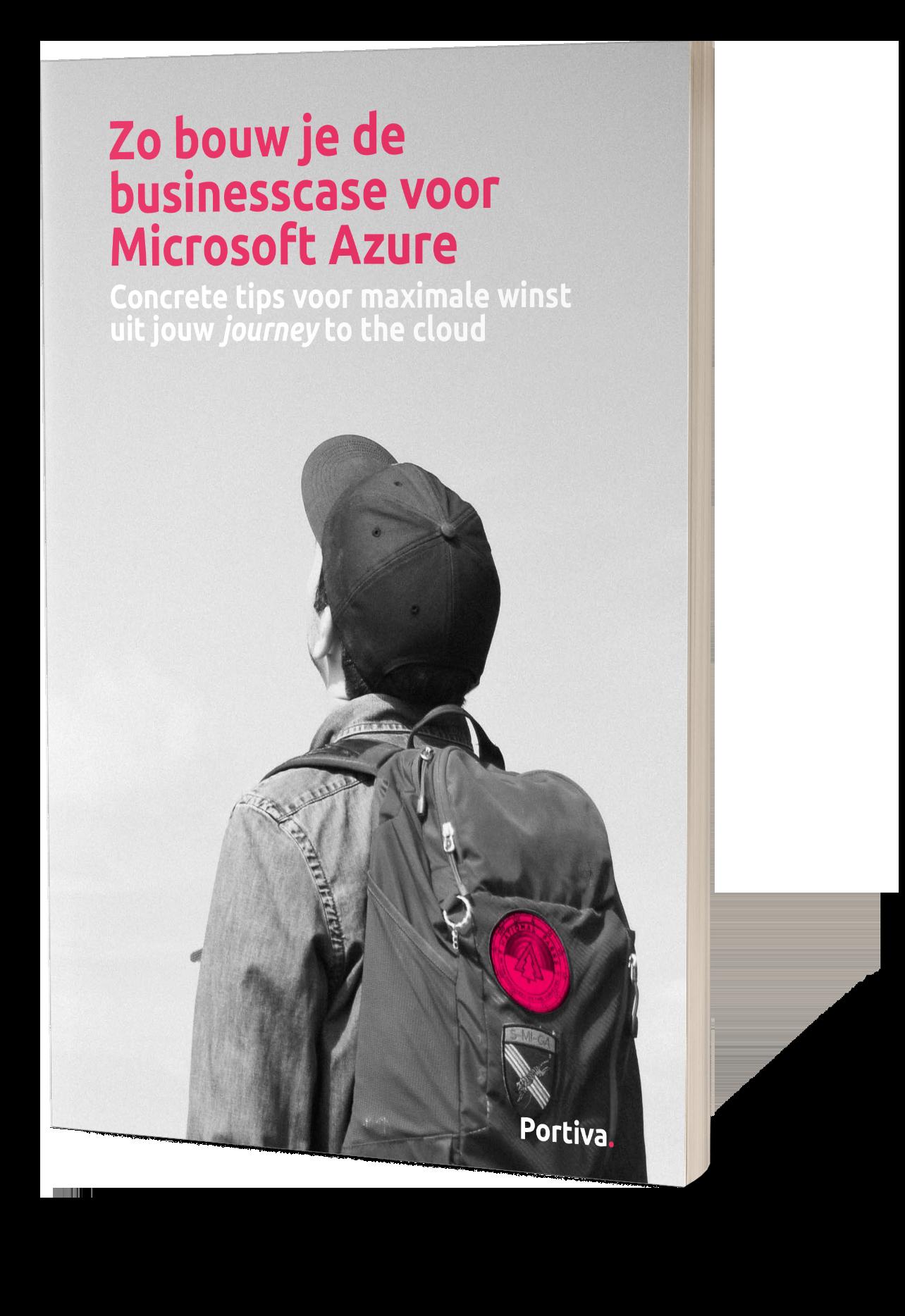 Whitepaper mock-up - zo bouw je de businesscase voor Microsoft Azure