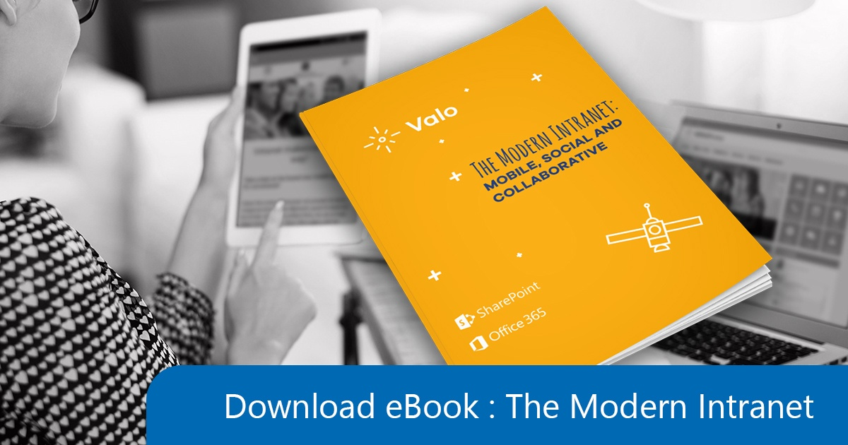 Mail eBook the Modern Intranet Valo