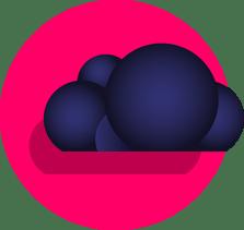Cloud infra en apps icoon