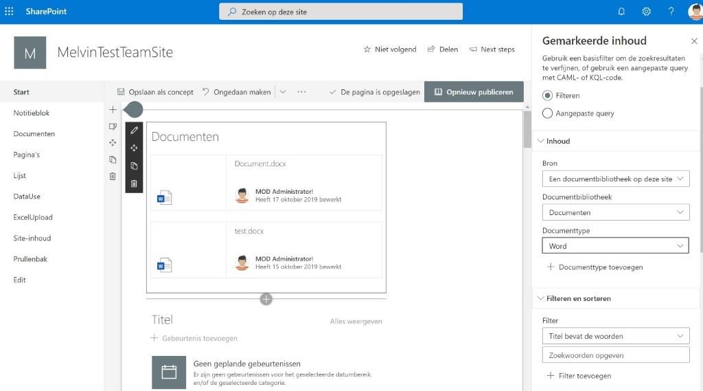 Modern SharePoint